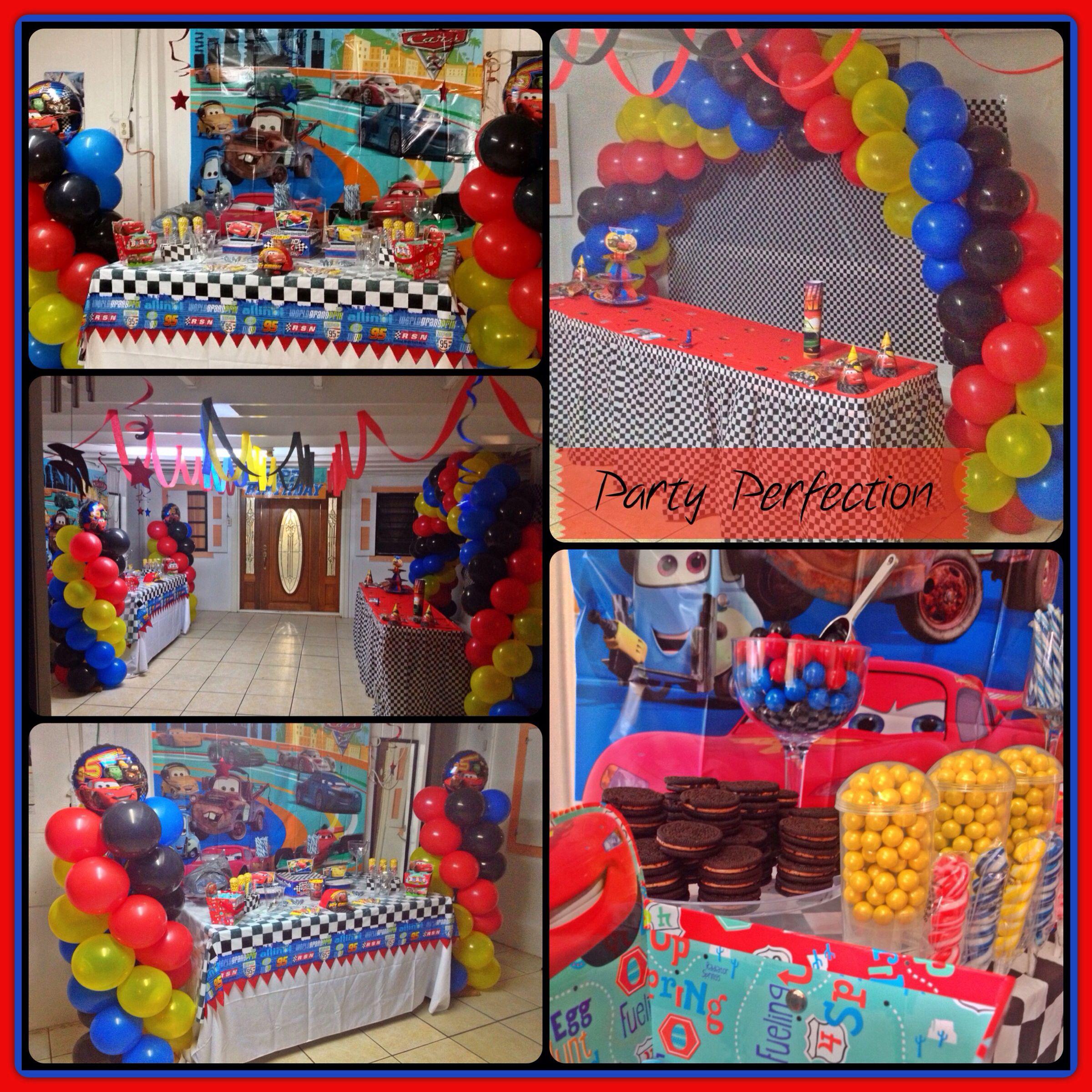 Car decoration toys  Cars Theme Birthday decor by Glenda  Party Decor by Party