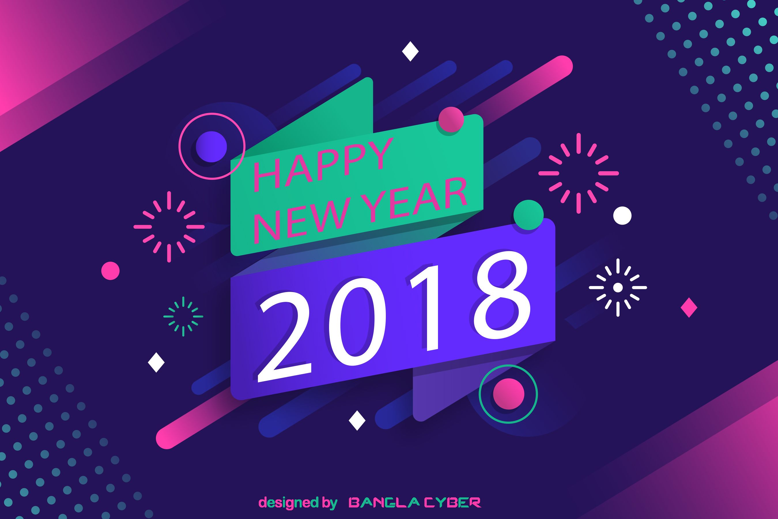 Happy New Year 2018 Happy New Year Pinterest Perfect Word