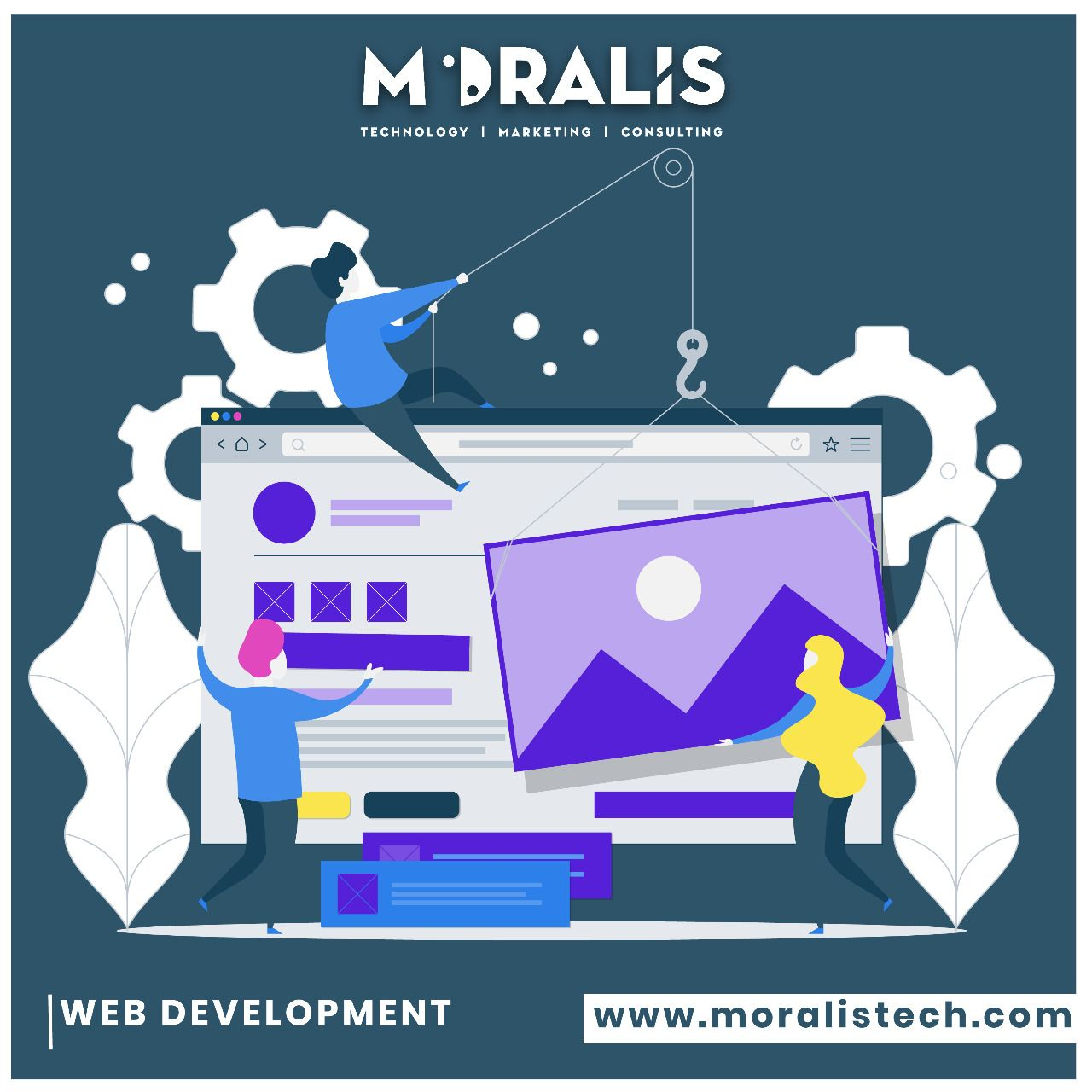 We create responsible and eye-catchy Web Designs and Developments that keep your audience engaged . . . #moralis #moralistech #digitalmarketing #marketing #branding #design #webdesigns #developments #webdesign #brand #logo #websitedesigning #brandbuilding #buildingindustry #corporatebranding #brandvalues #logodesign #graphicdesign #brandexperience  #brandactivation #creativeagency #brandagency #brandstrategy #digitalagency #advertising #brandpositioning #brandexperiences #marketingagency