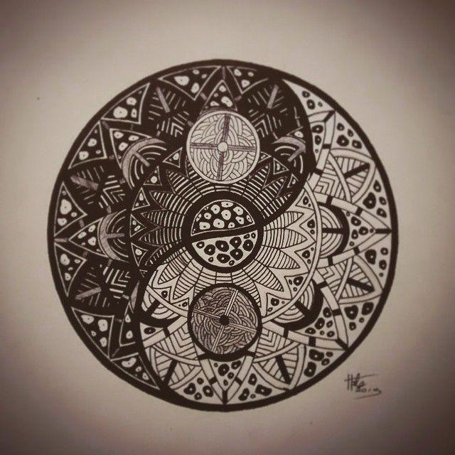 20 Yin Yang Mandala Tattoos Ideas And Designs