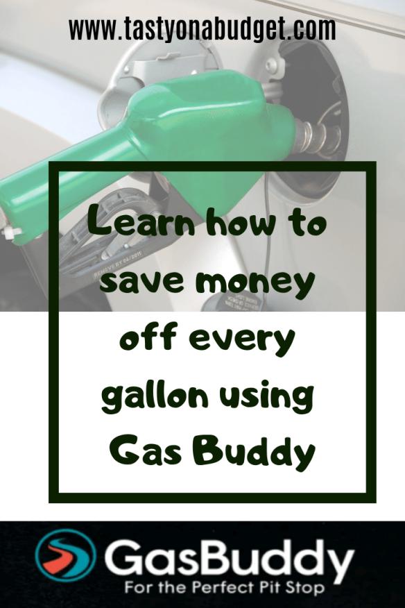 Saving Money with Gas Buddy Tasty on a Budget Gas