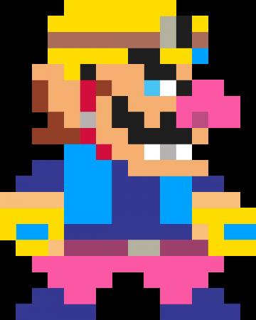 Super Mario Maker Mario Super Mario Pixel Art
