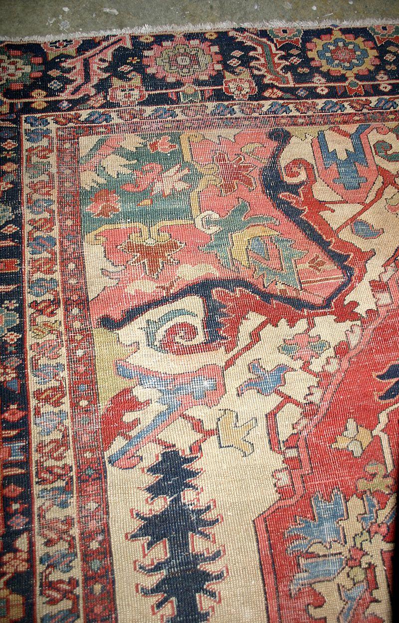 Item Id C 466 In Shop S Backroom Rugs On Carpet Rugs Antique Heriz Rug