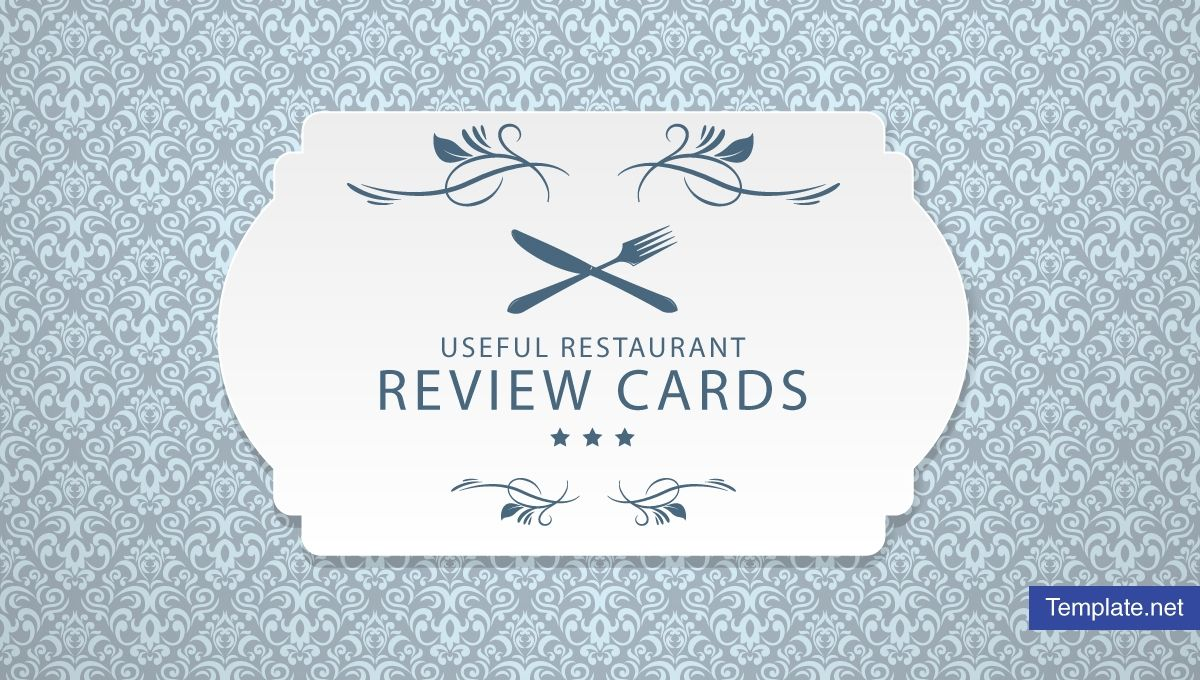 13 Useful Restaurant Review Card Templates Designs Psd For Restaurant Comment Card Template Card Template Card Templates Template Design