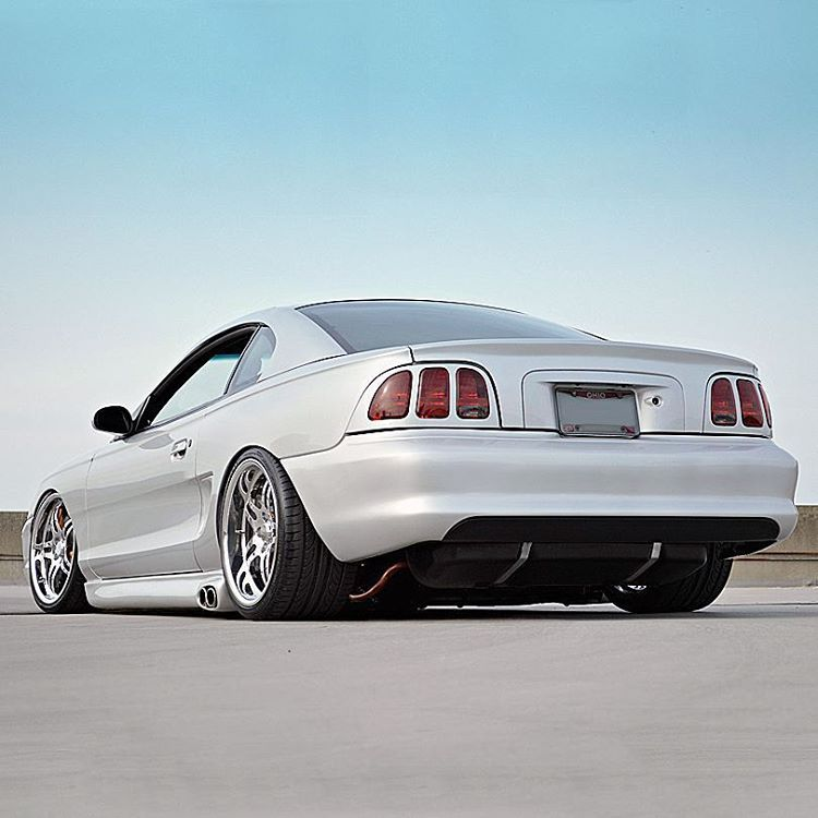Tony's Slammed Sn95 #Mustang