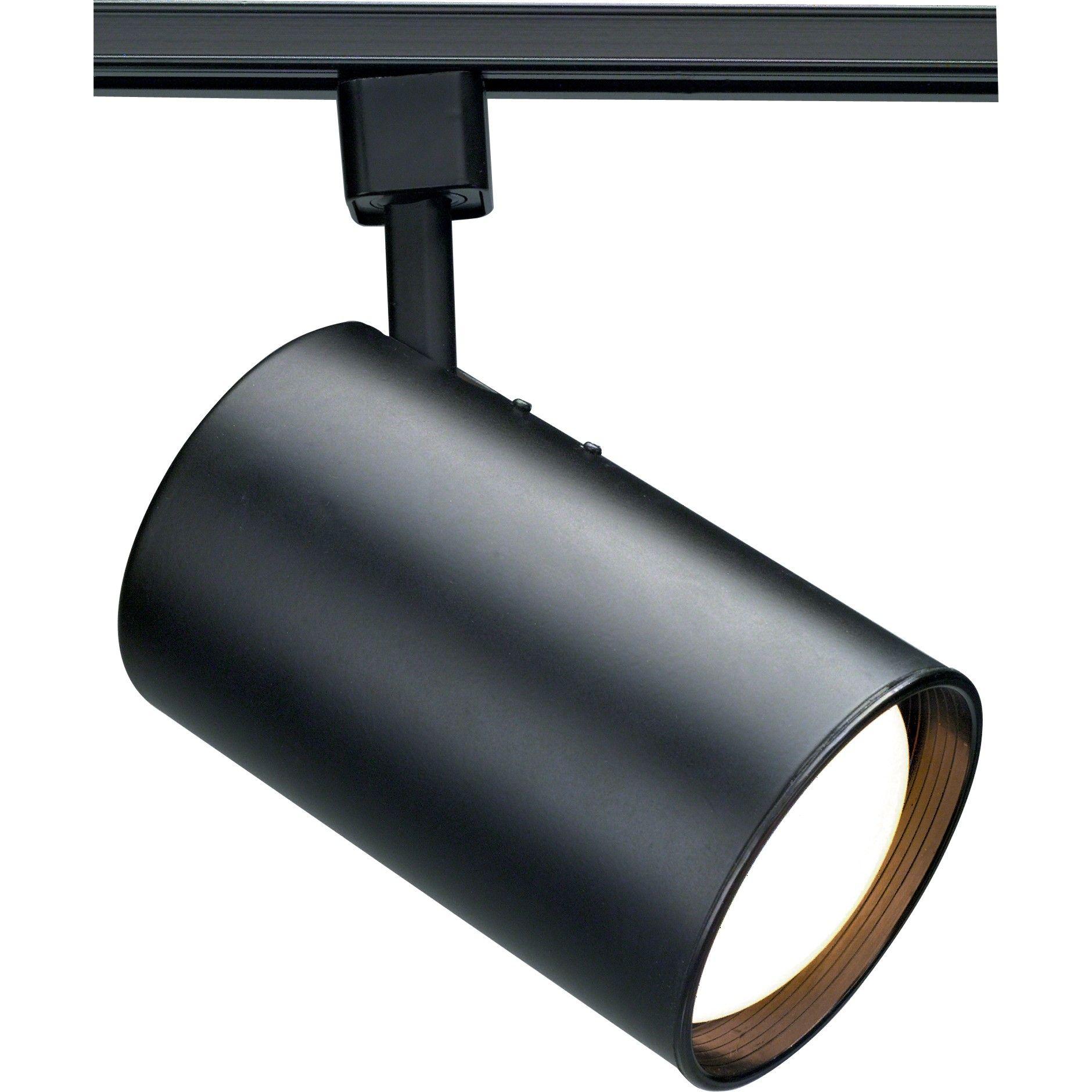 NUVO TH362 | 1-Light CFL R30 Straight Cylinder Track Lighting Head | NUVO Lighting