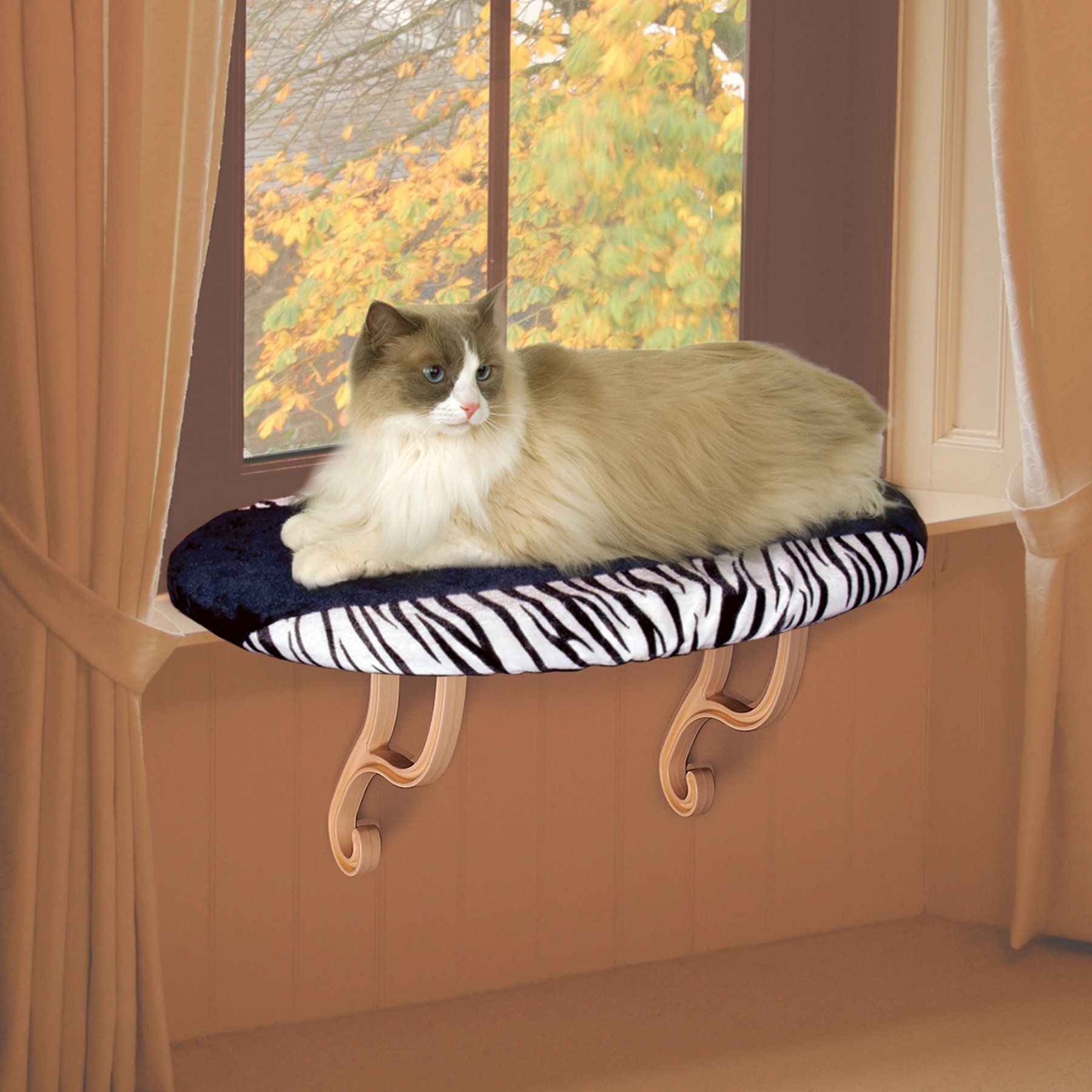 Window bed for cats  kuh manufacturing unheated kitty sill    kitten and products