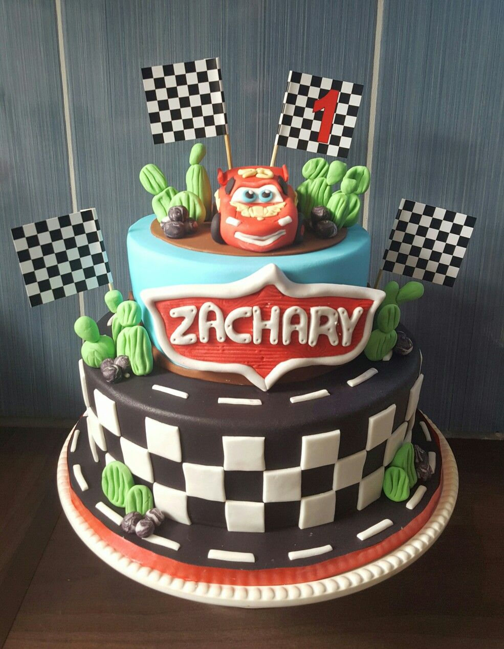Lightning Mcqueen birthday cake My cakes Pinterest Lightning