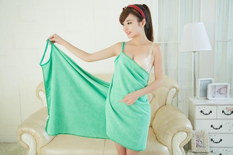 Photos of sexy women wearing towels something