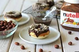 Resultado de imagen para donas deliciosas de nutella