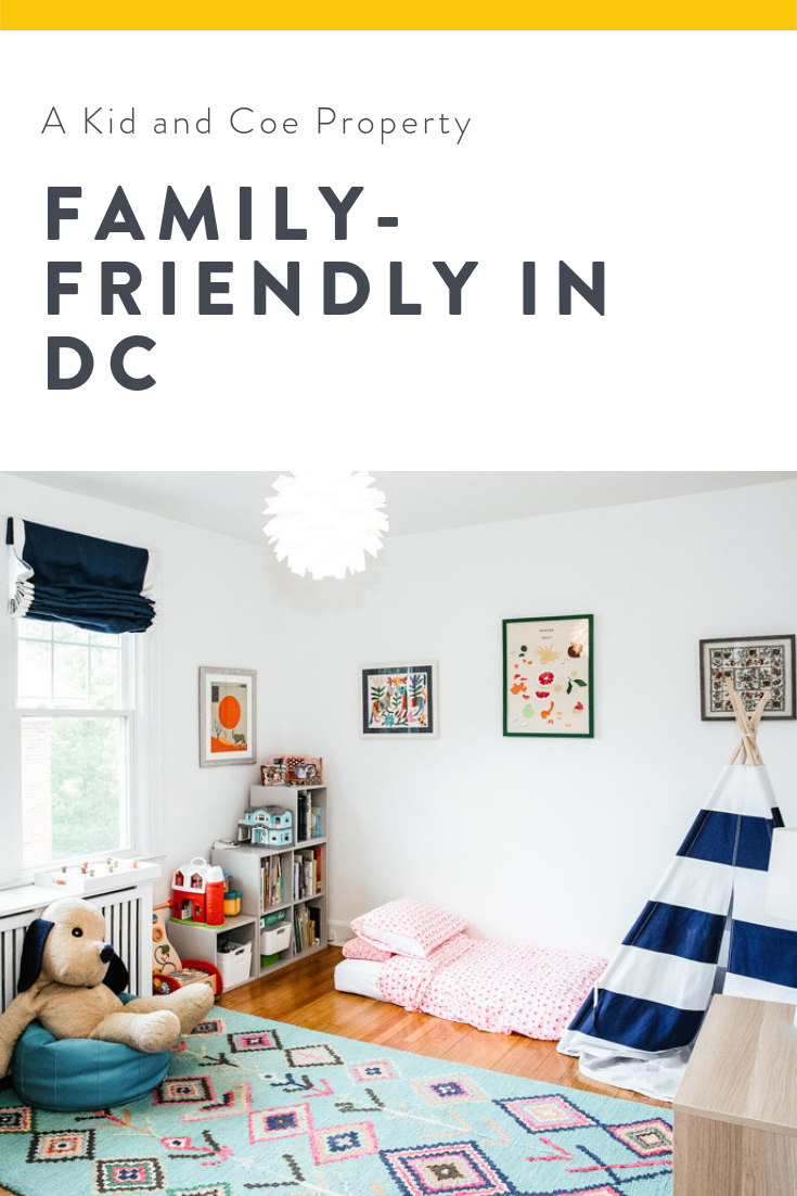 Dc Done Right In Family Friendly Tenleytown Enjoy This City Chic Rowhouse Complete With A Renovated Basemen Basement Apartment Home Decor Kids Rugs