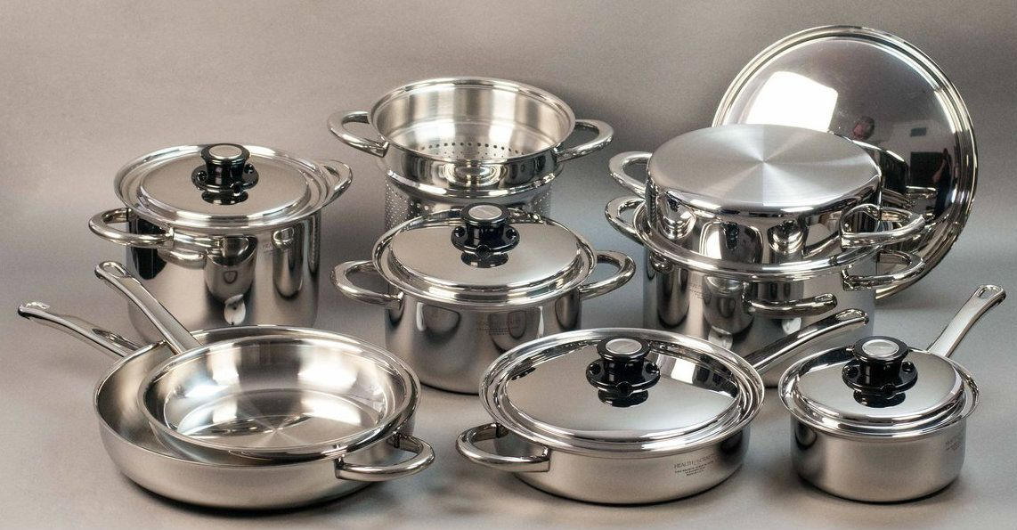 17 pc inductionpro waterless cookware set made in usa