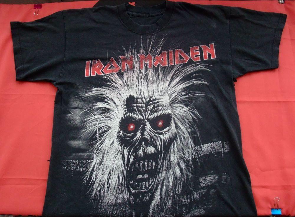 rare vintage Iron Maiden Prowler 80s 90s original t-shirt   rare ... d1668df6115