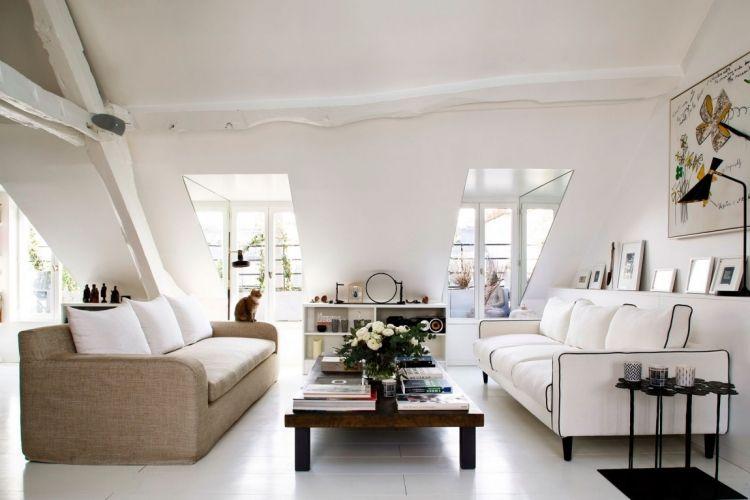 Petrol Farbe als Akzent im Interior – moderne Pariser Wohnung ...