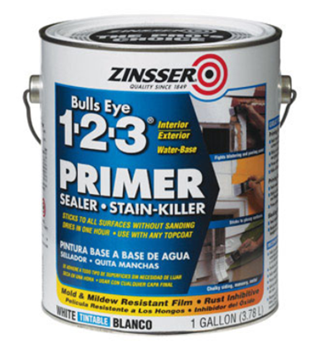Zinsser Primer No Sanding Required Paint Over Wood Laquer Plastic Vinyle Tile Anything I Just Exterior Primer Painting Over Stained Wood Primer Sealer