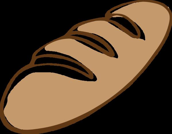 627 Bread Loaf Loaf Bread Vector Clipart Clip Art