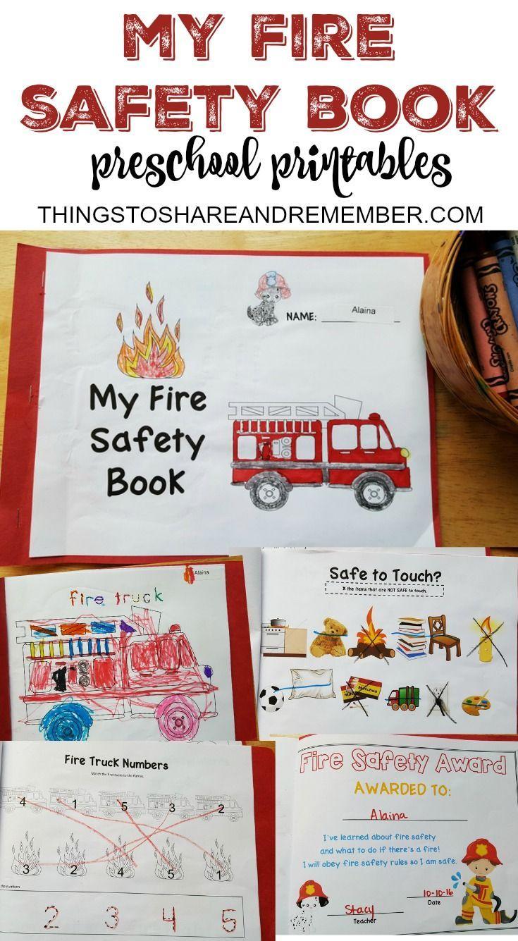 Preschool Fire Safety Booklet Printables Fire Safety Booklet Fire Safety Preschool Fire Safety For Kids [ 1335 x 735 Pixel ]
