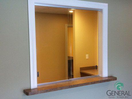 glass reception window | Receptionist Windows | Art and ...