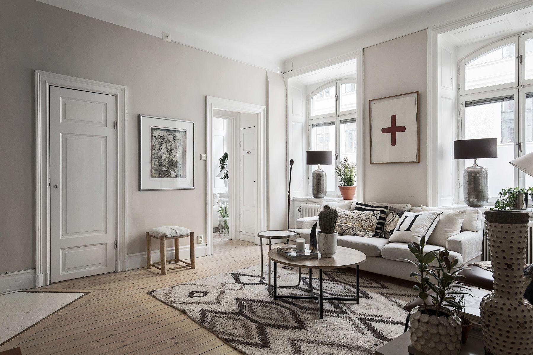 #homestyling #styling #vardagsrum #livingroom Styling av familjevåning i Vasastan | Move2