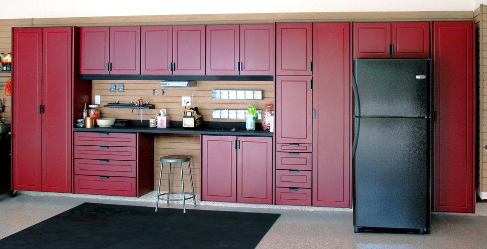 Bathroom Exciting Type Garage Cabinets Choose From Using Kitchen