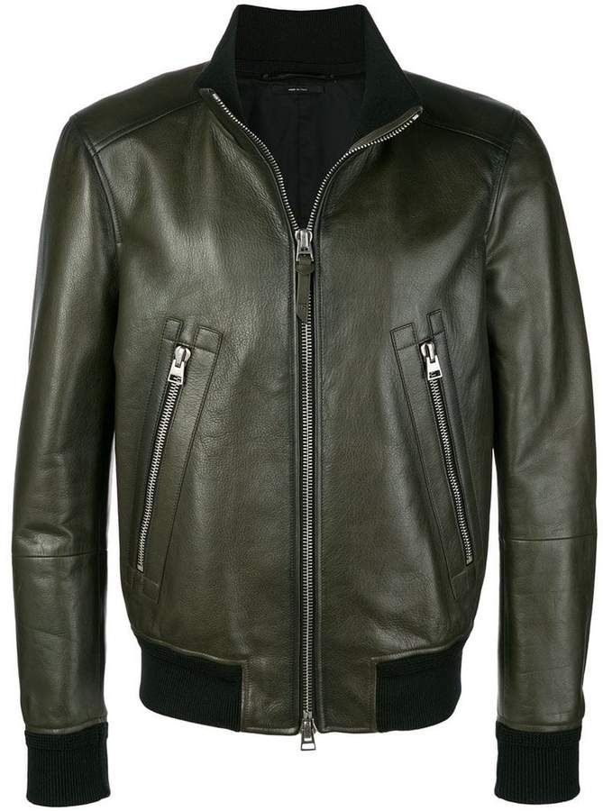 ee1613fc9 Tom Ford bomber flight jacket | Leather jackets in 2019 | Tom ford ...