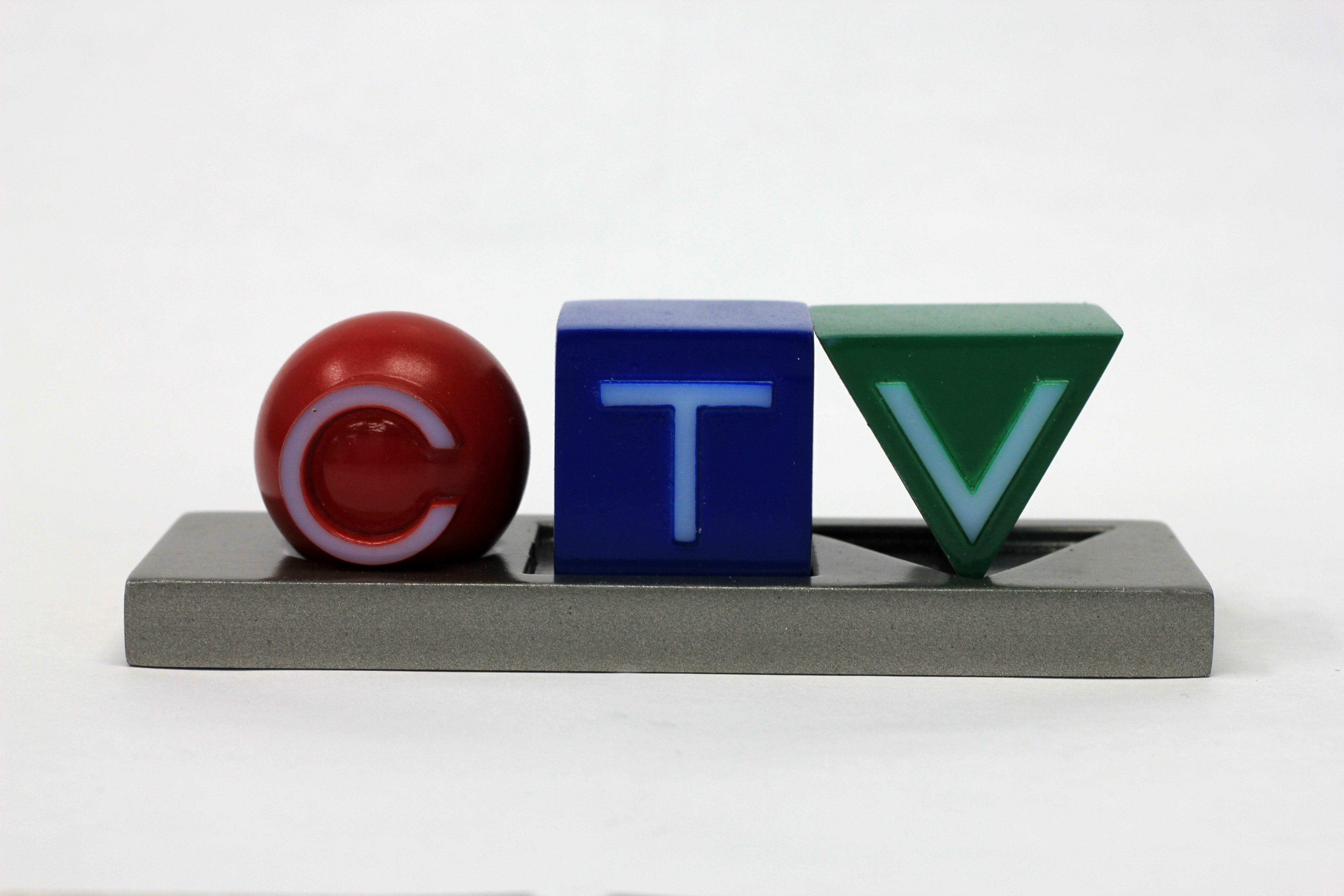 3D printed CTV logo Prints, 3d printing, Decor