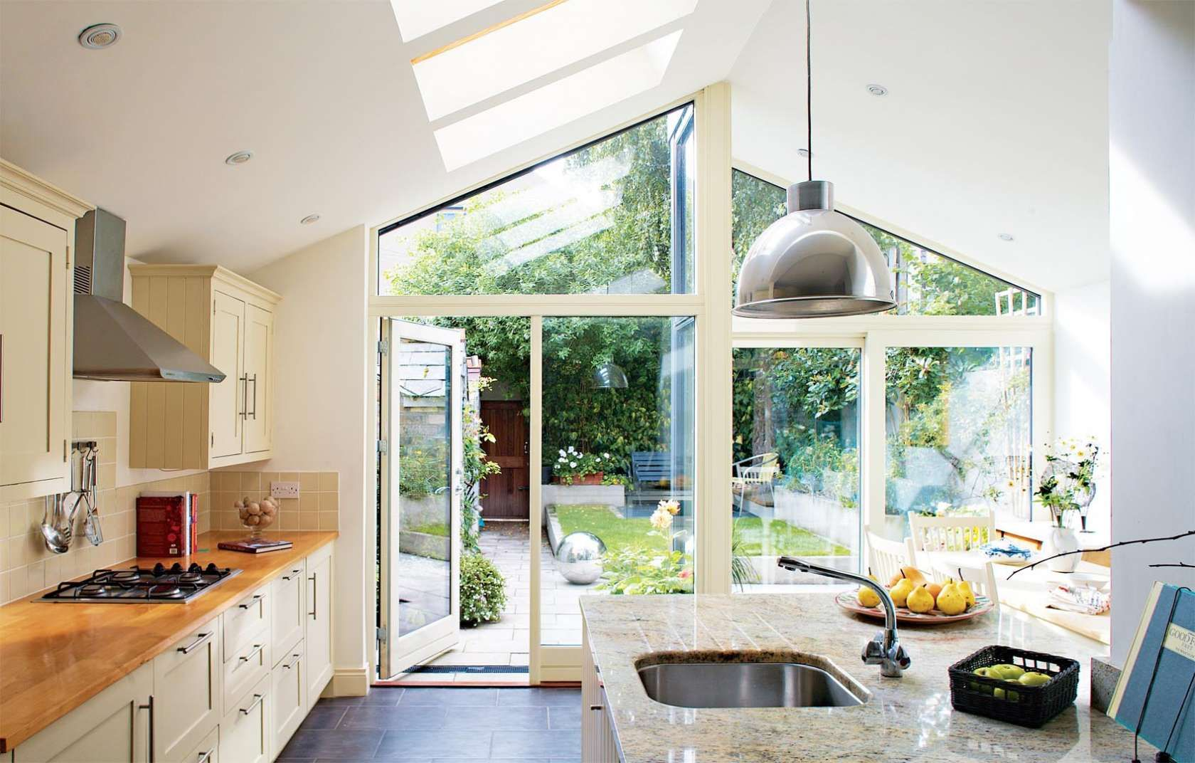 Terraced house kitchen extension google search kitchen for House extension interior designs