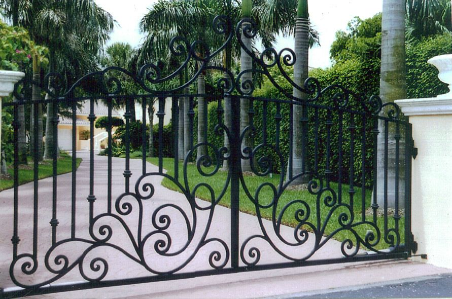 Work Sample Wrought Iron Gate Design Wrought Iron