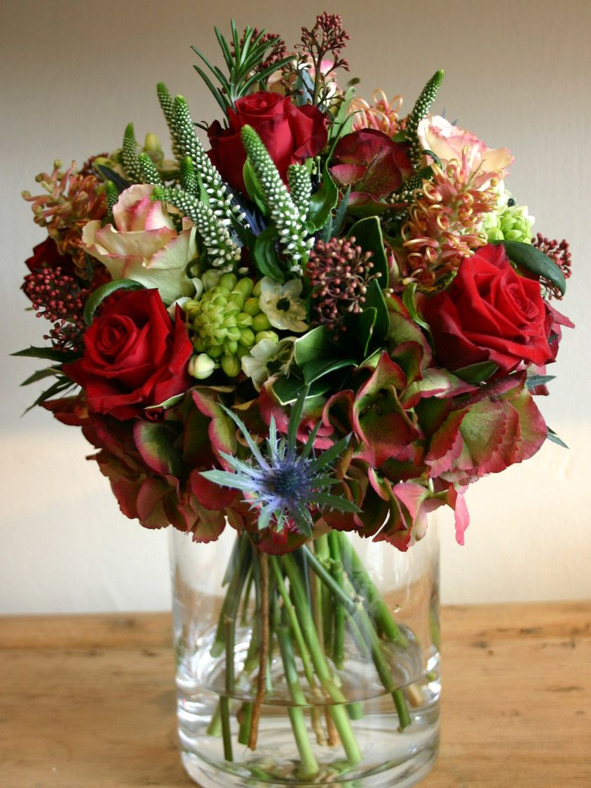 FLOWER SHOP STORIES 365 DAYS OF FLOWERS red roses