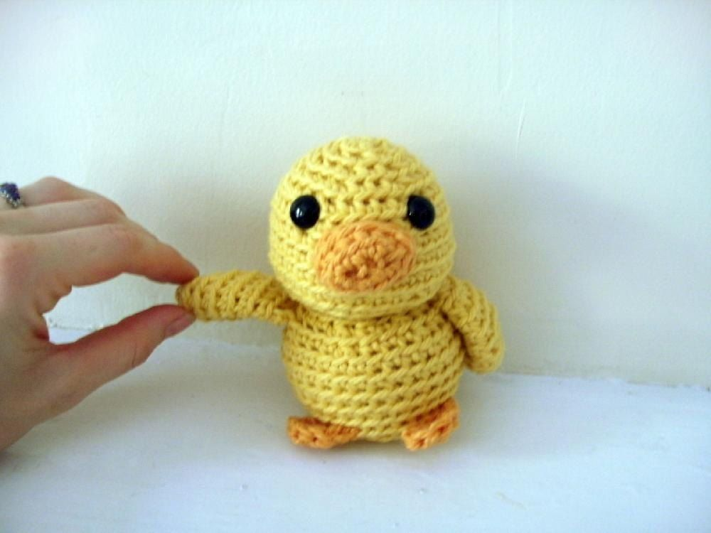 Photo of Amigurumi Mal the Tiny Duck Crochet pattern by Stacey  Trock | Knitting Patterns | LoveKnitting