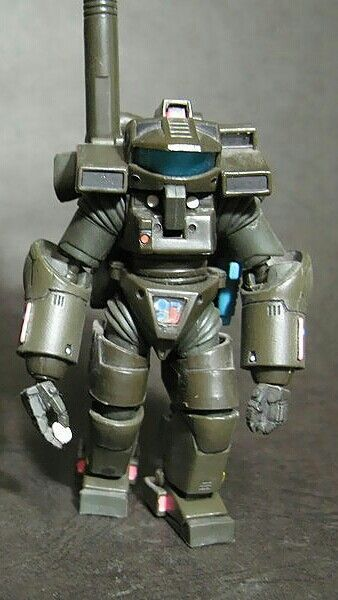 Starship troopers powered armor