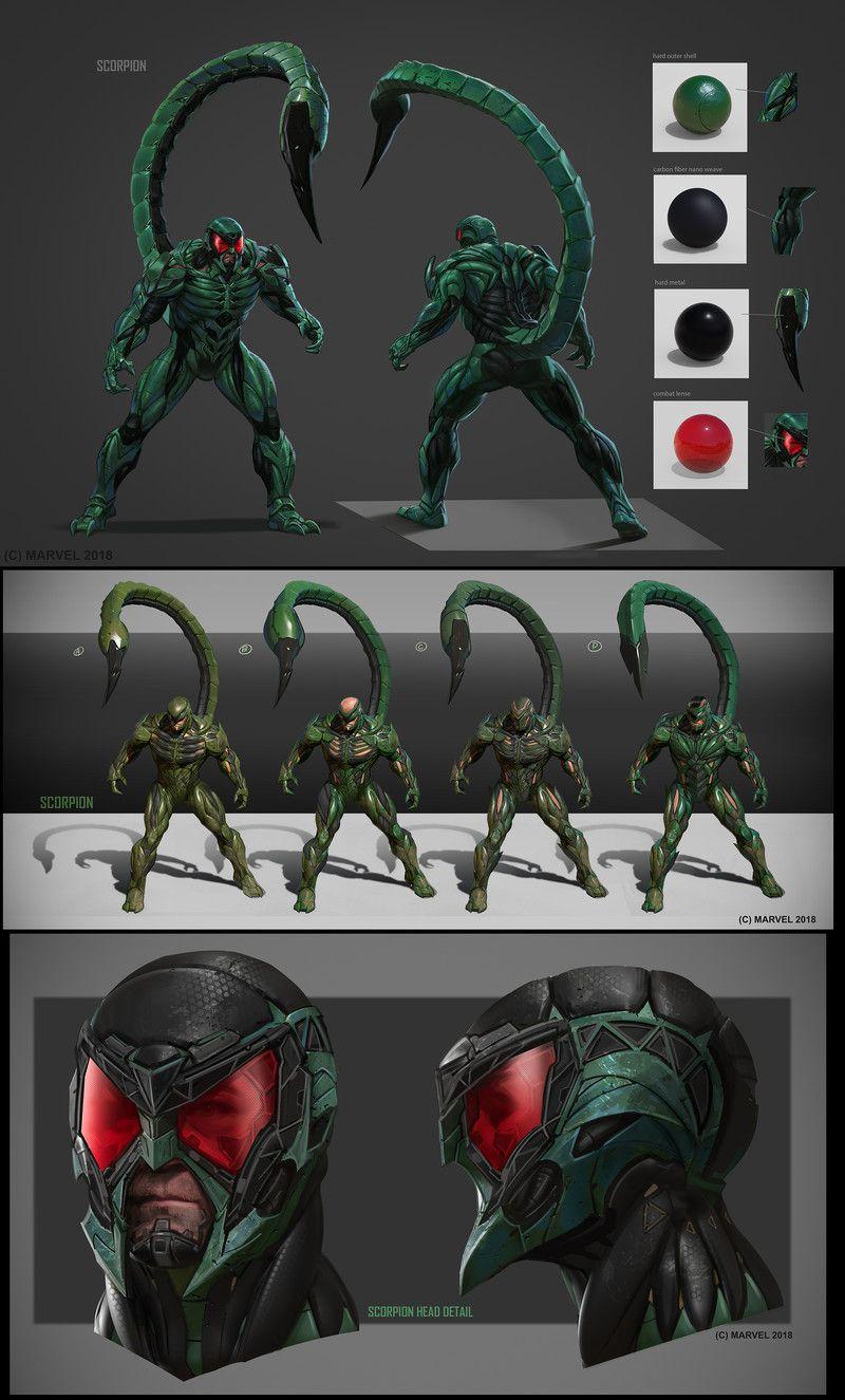 ArtStation - Spiderman concepts. Daryl Mandryk in 2020 | Marvel concept art. Spiderman art. Marvel characters