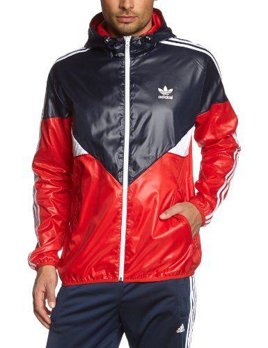 Adidas originali in colorado legink / colred giacca a vento, piccola