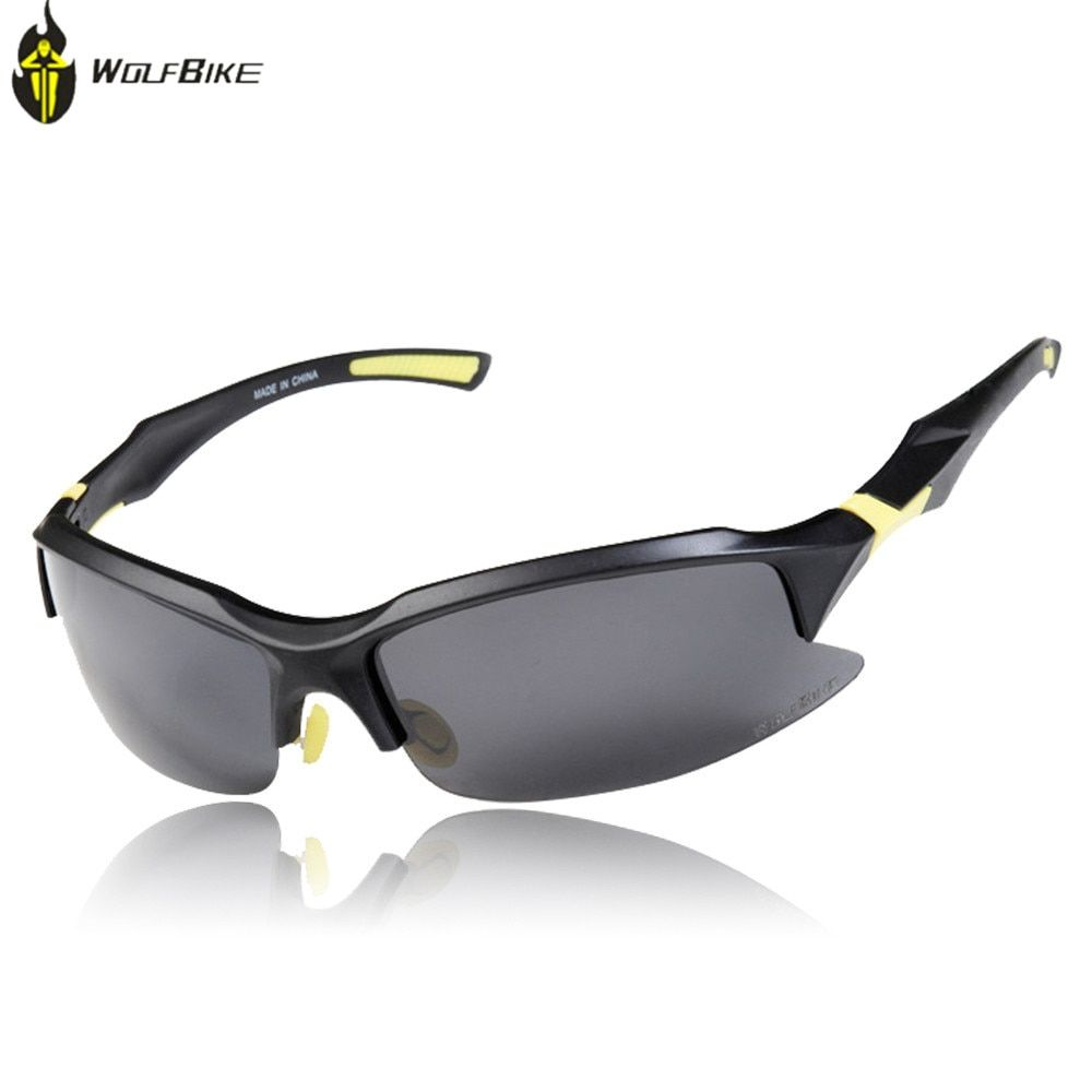 233aabee85d WOLF BIKE Bike Professional Polarized Cycling Glasses Bike Goggles Sports  Bicycle Sunglasses UV 400 STS014 Sunglasses