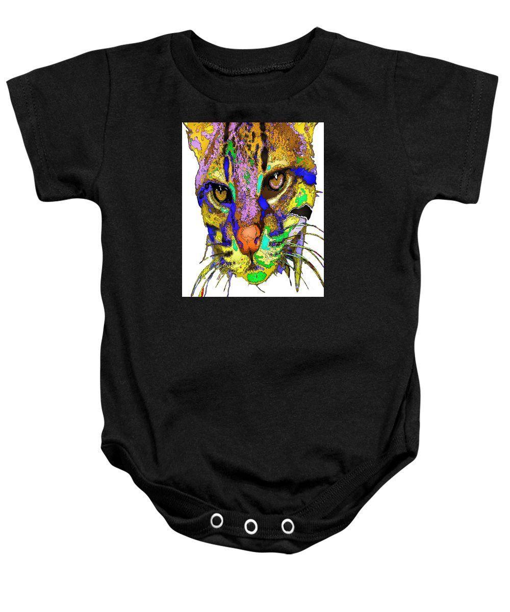 Baby Onesie - Whiskers. Pet Series