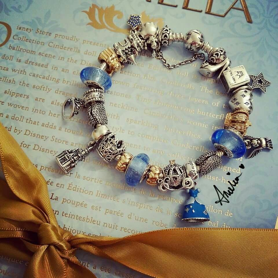 Cinderella Disney | www.goldcasters.com | Pandora bracelet designs ...
