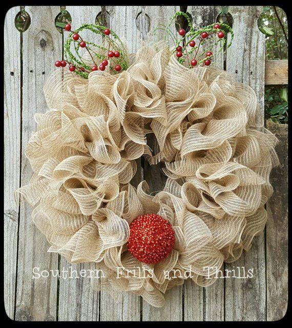 10+ Creative Christmas Deco Mesh Wreath Ideas Wreaths, Christmas