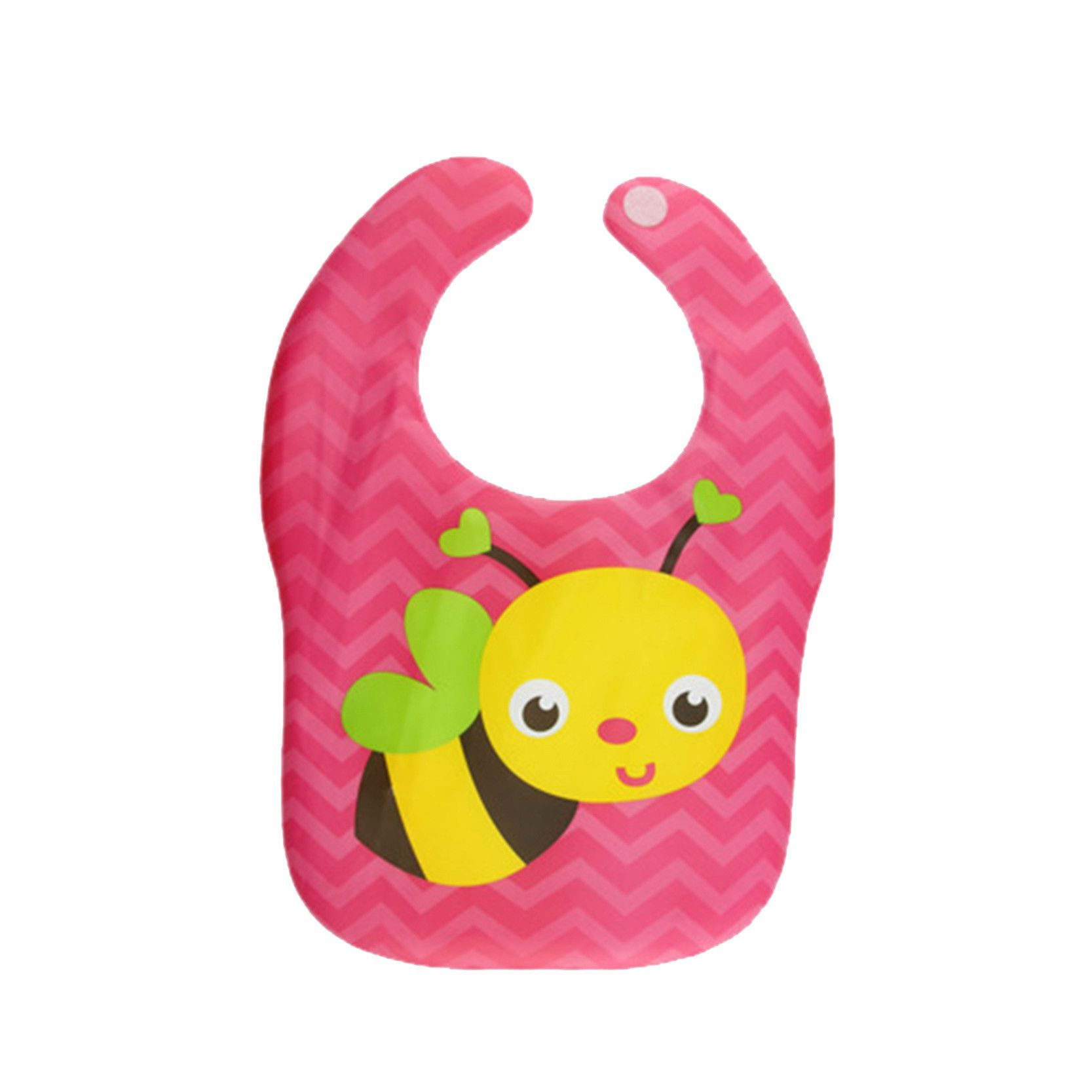 Cute Animal Baby Bibs Waterproof Cartoon Bee Bear Dinosaur Pattern Infant Burp Cloths Baby Boy Girl Clothing Accessories