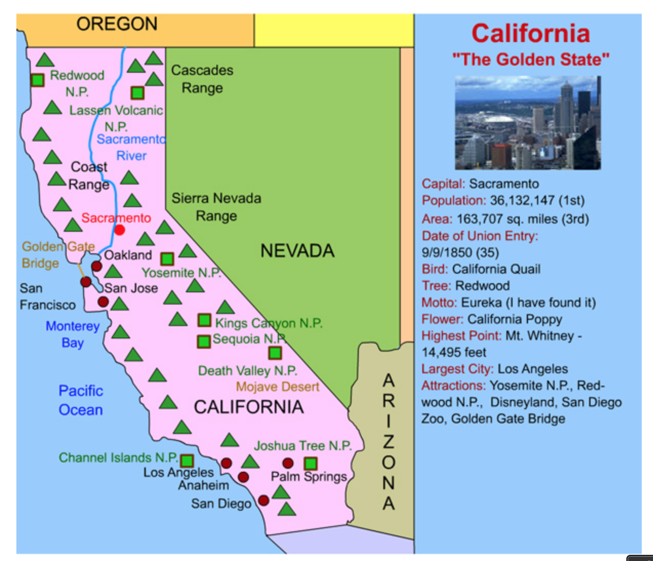 This California Interactive Map Is Perfect For Kids