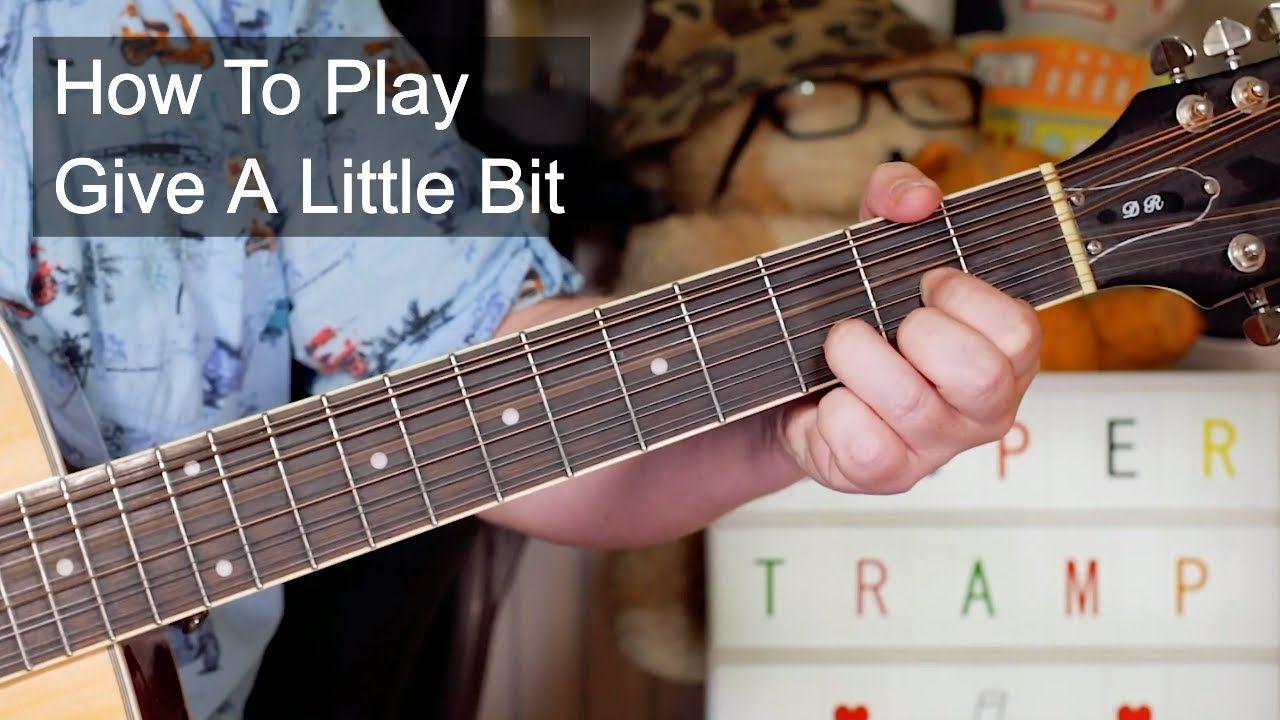 Give a little bit supertramp guitar lesson guitar