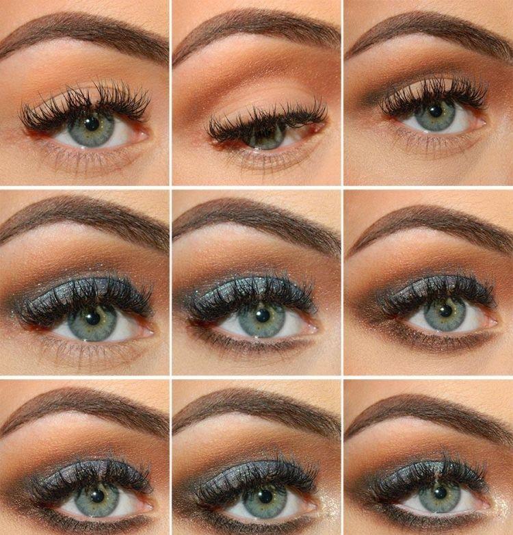 Augen Make Up Smokey Eyes #augen #augenmakeup #smokey ...