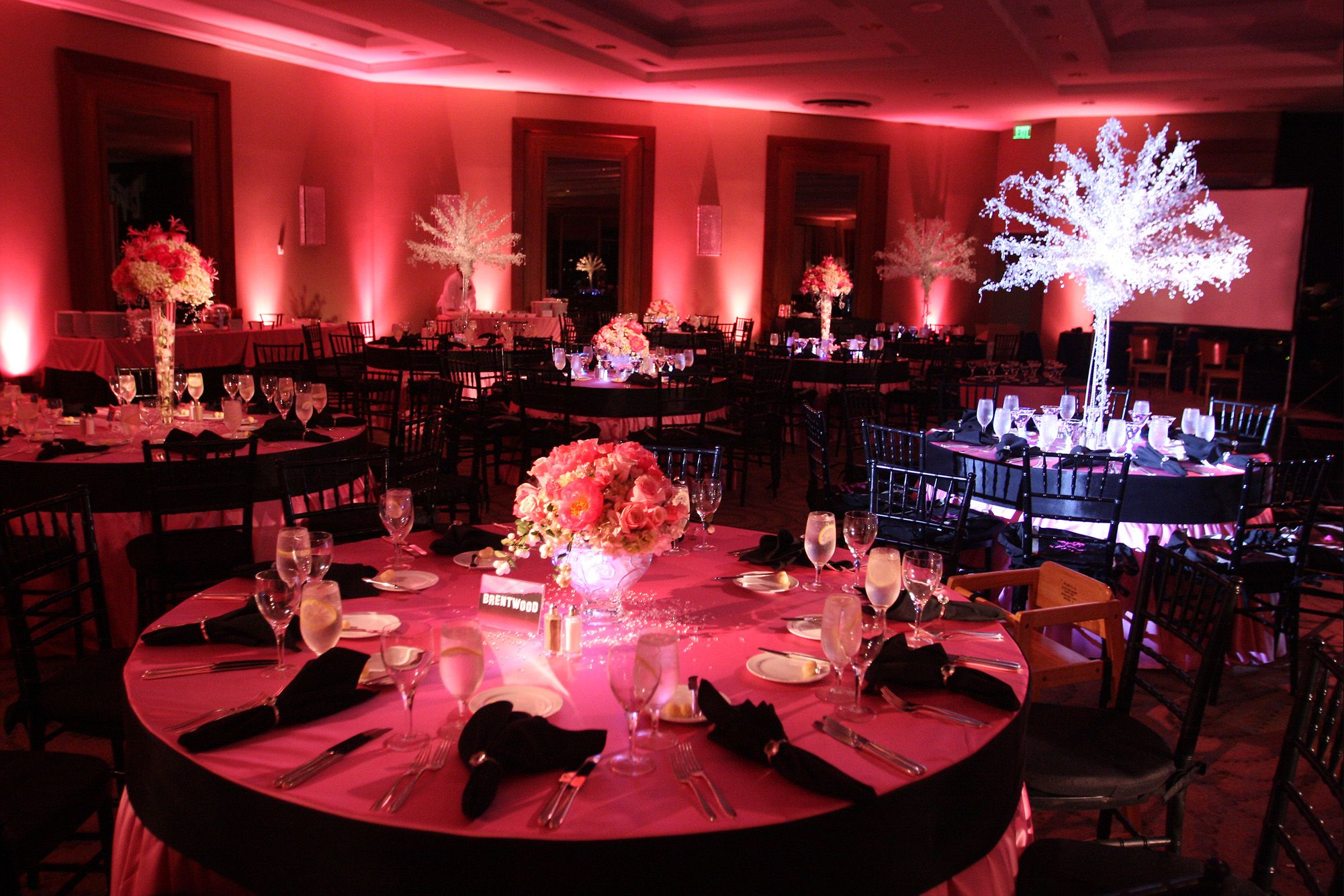 Party planning recap hollywood themed mitzvah hollywood for Hollywood party dekoration