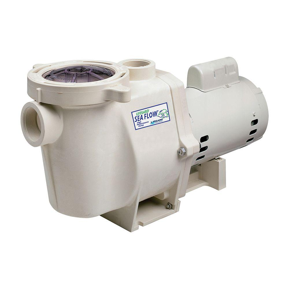 Lifegard Aquatics Sea Flow 9600 Gph High Performance Pond Pump R175315 The Home Depot In 2021 Pool Pump Swimming Pools Pond Pumps
