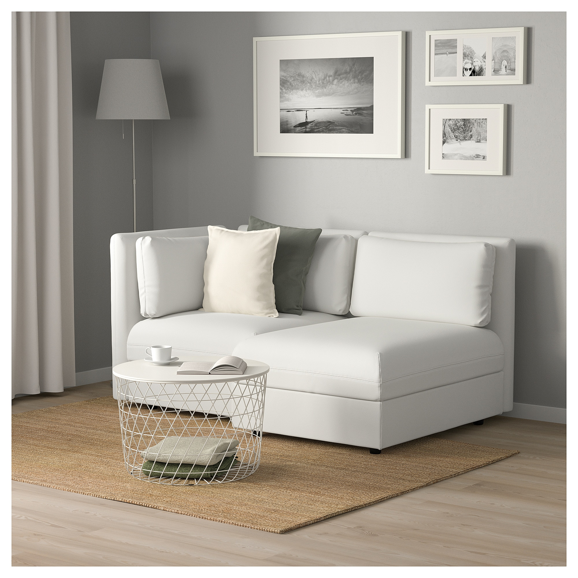 Ikea Vallentuna Modular Loveseat With Storage Murum White Modular Sofa Love Seat Decorate Your Room