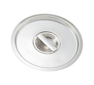 Winco Bain Marie Cover - BAMC-12 Case Pack: 24  Bain Marie Cover, for 12 quart, stainless steel
