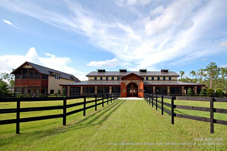 Luxury Horse Stables Exterior