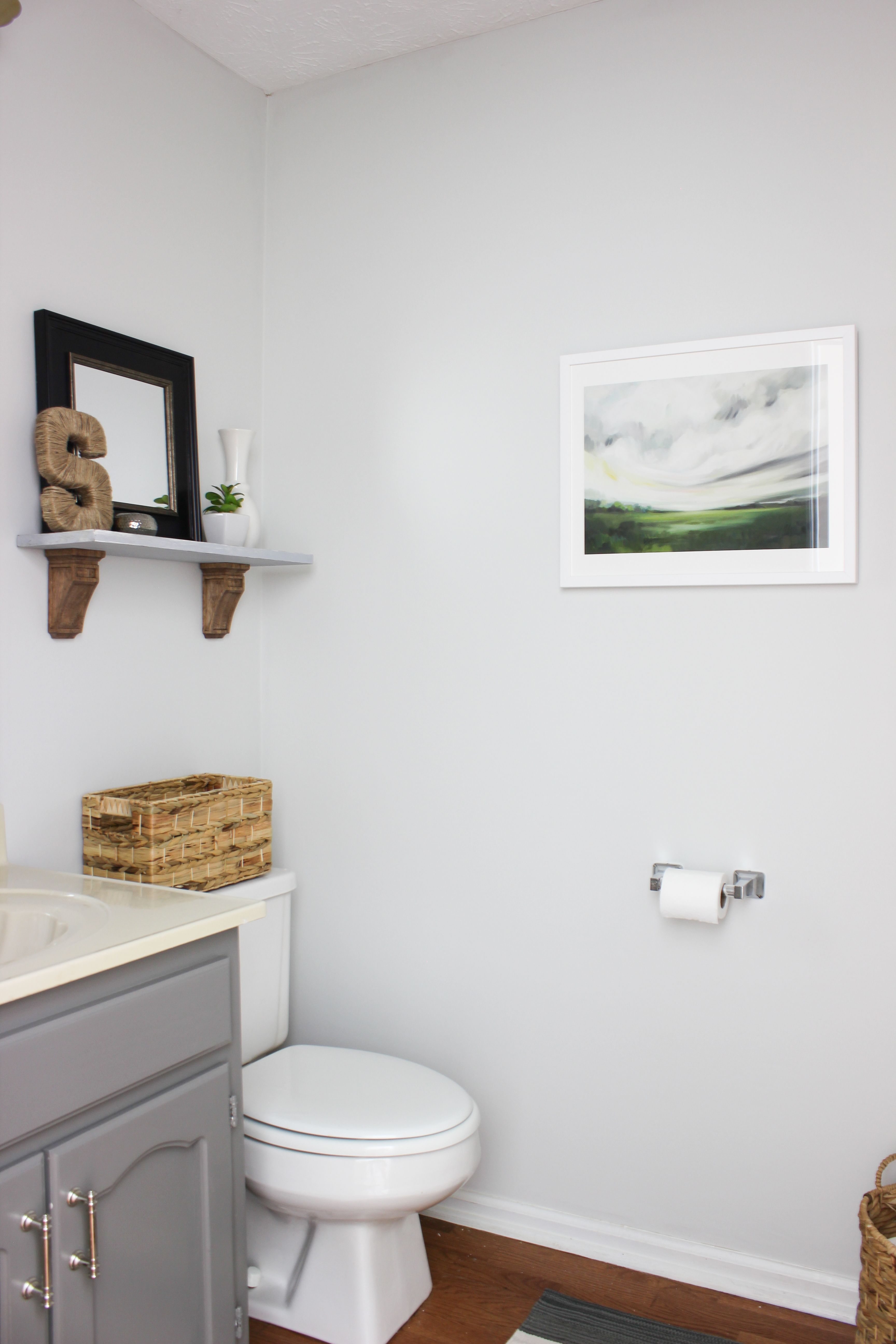 Bathroom Makeover {On a Budget}: Before & After | Budgeting ...