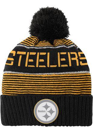 Pittsburgh Steelers Black Magna Kids Knit Hat  2fa90d08a