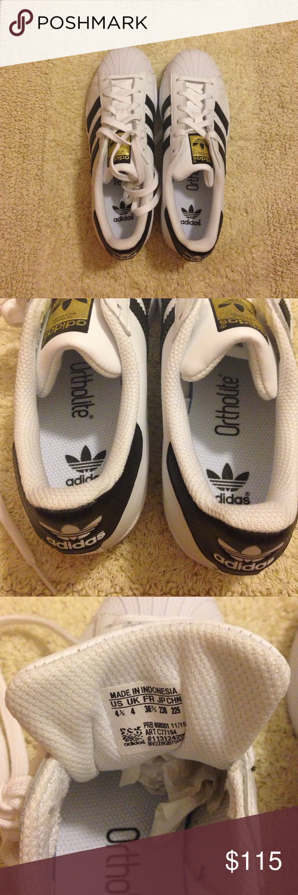 Adidas superstar, Shoes sneakers adidas