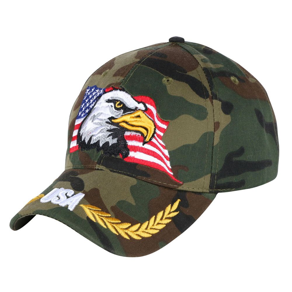 239da475cf6 women men novelty Eagle hip hop snapback cap hat embroidery usa flag  pattern outdoor sports baseball